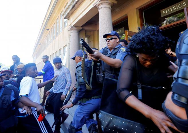Incidents à l'Université du Western Cape