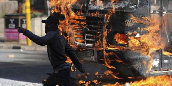Affrontements à Witwatersrand
