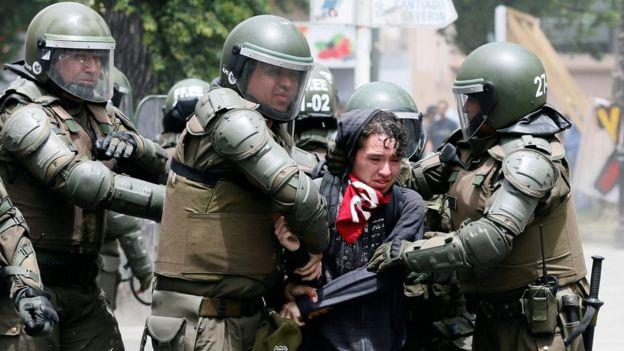 Arrestation à Valparaiso