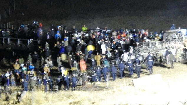 Manifestation à Standing Rock