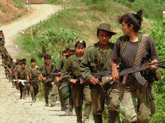 Combattants des FARC (archive)