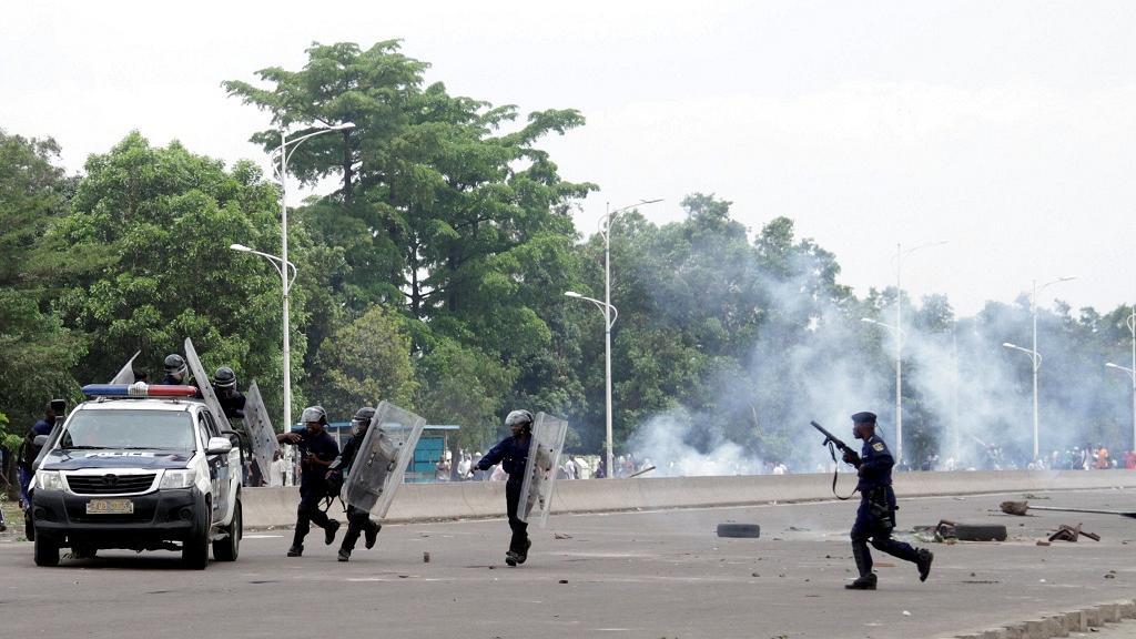 Les affrontements de mercredi à Kinshasa