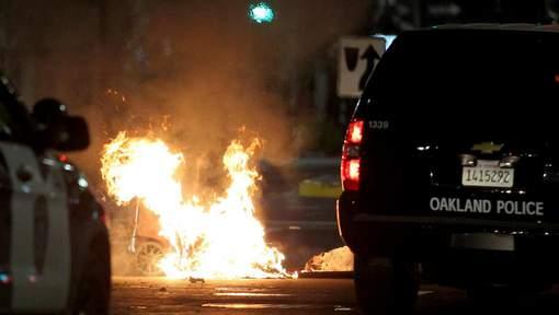 Les incidents à Oakland