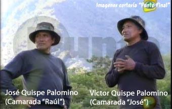José et Victor Quispe Palomino