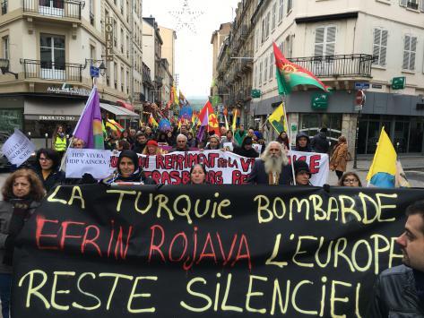 Une manifestation anti-Erdogan vendredi à Strasbourg