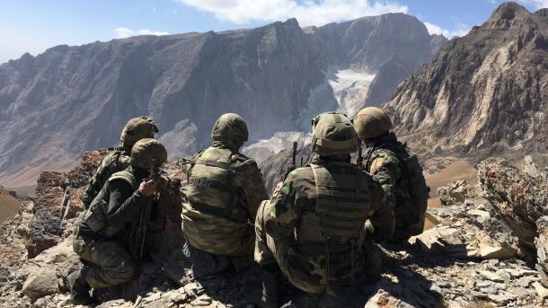 L'opération de l'armée turque