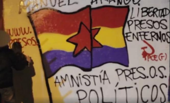 Tag pour la libération d'Arango