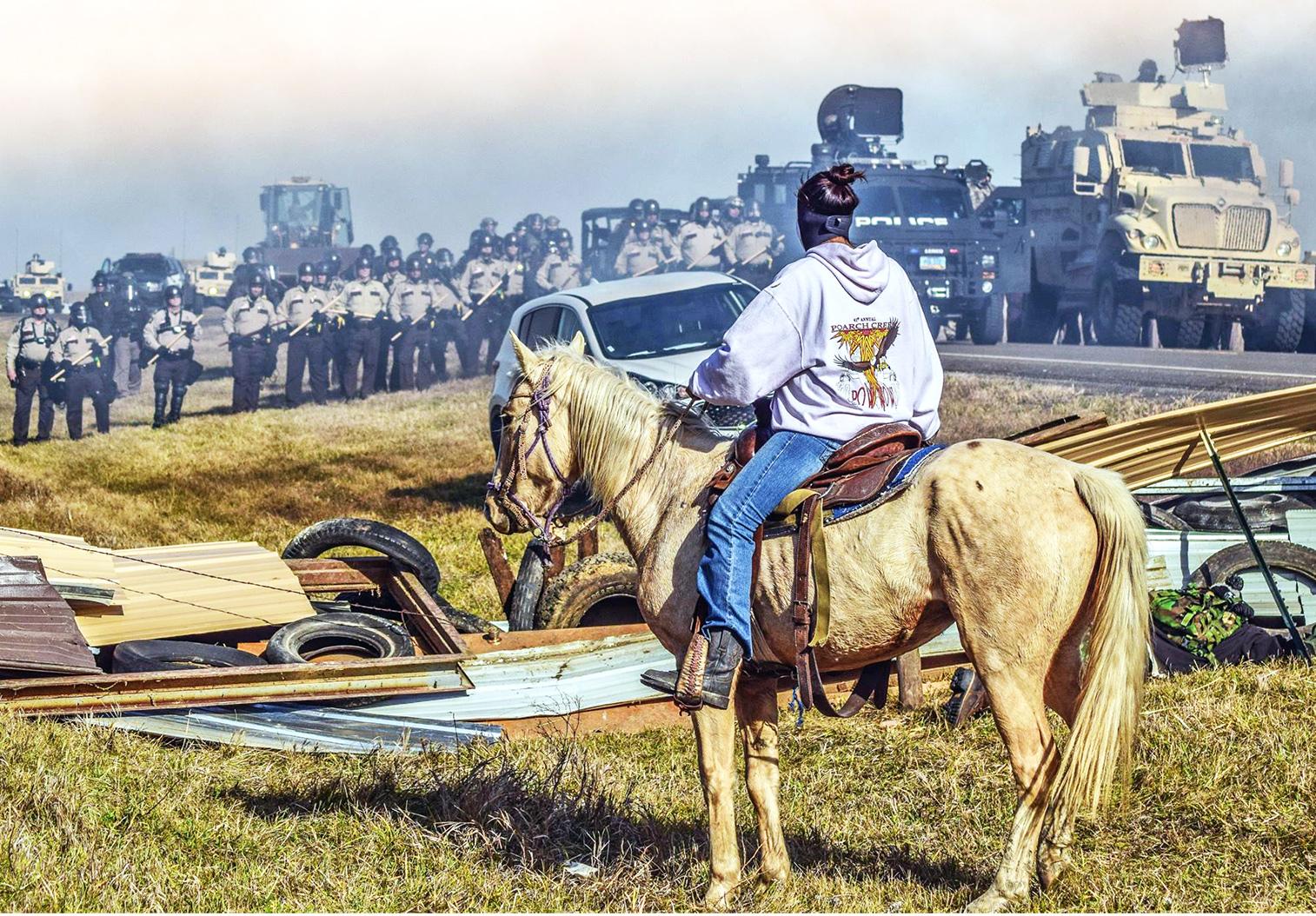 Face à face à Standing Rock