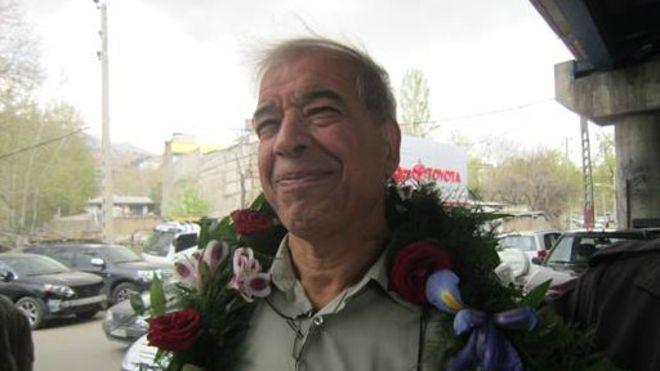 Ebrahim Madadi, dirigeant emprisonné du syndicat des chauffeurs