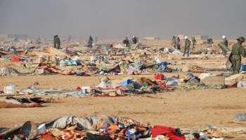 Le démantèlement du camp de Gdeim Izik