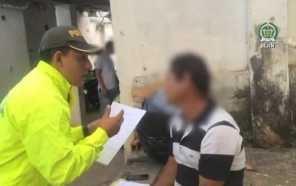 Un des deux membres de l'ELN arrêtés à Pelaya
