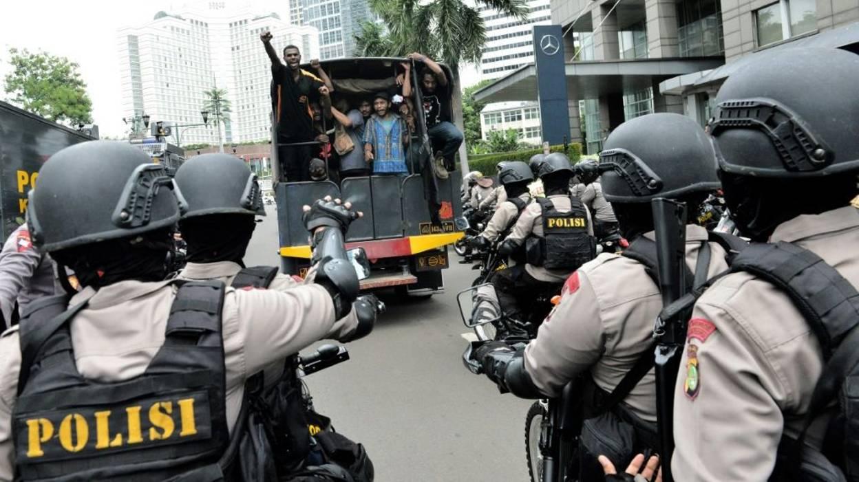 Les arrestations à Jakarta