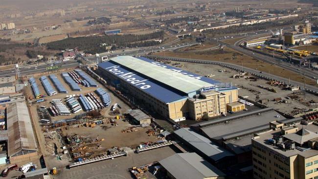 L'usine Pars Khodro