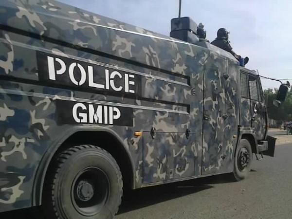 Police anti-émeute tchadienne