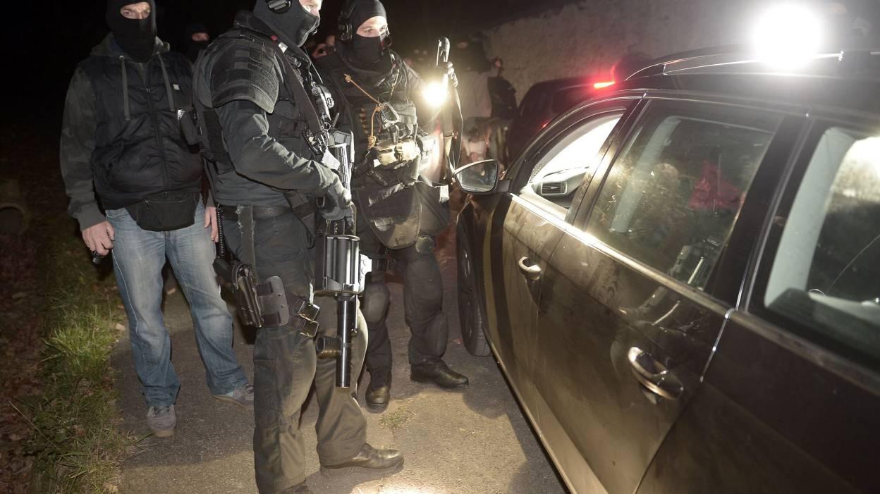Les policiers du RAID lors de l'opération du 16 décembre