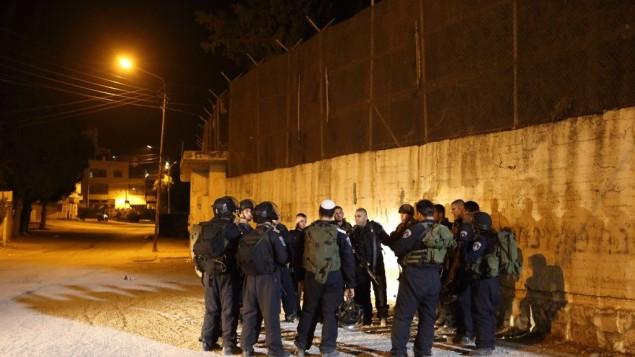 Forces d'occupation autour du Tombeau de Joseph