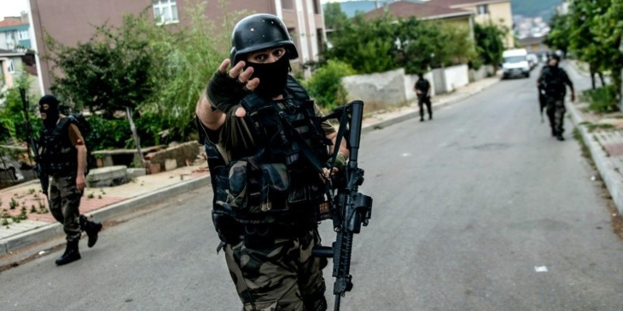 Opération sécuritaire des forces spéciales turques