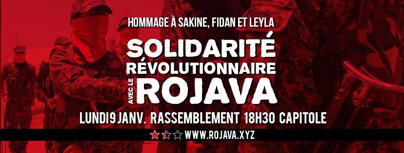 Rassemblement en hommage à Sakine, Fidan et Leyla