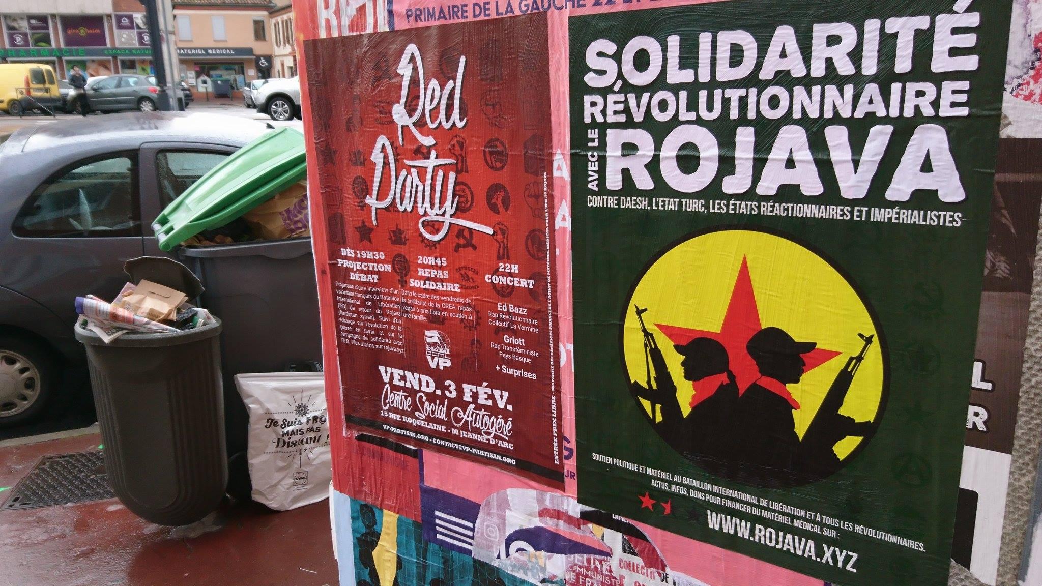 Soirée de solidarité avec le Bataillon International de Libération