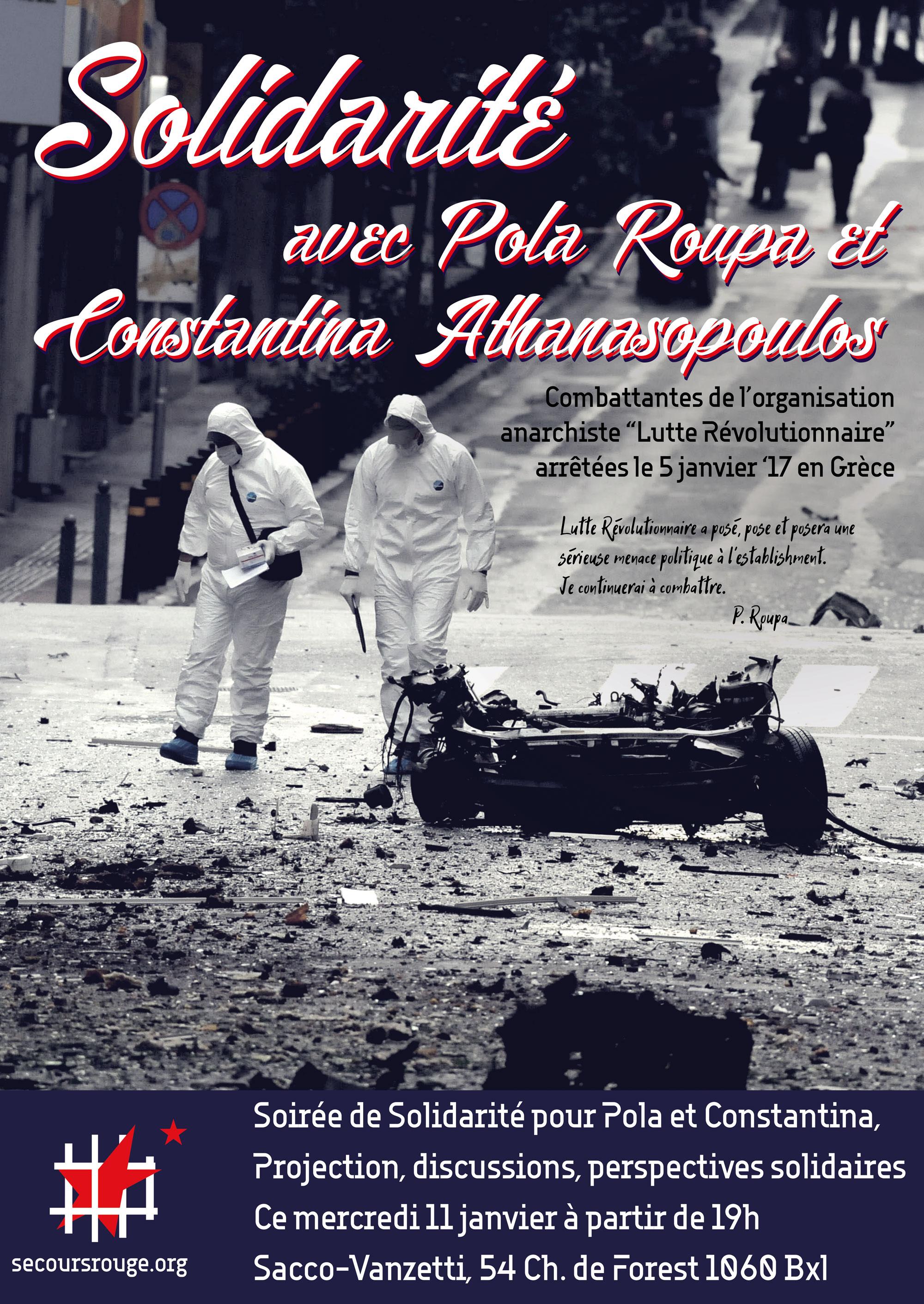 Solidarité avec Pola et Constantina
