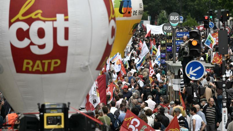 La manifestation du 5 juillet à Paris