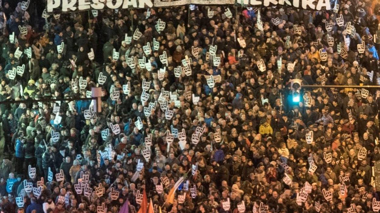 La manifestation de samedi à Bilbao