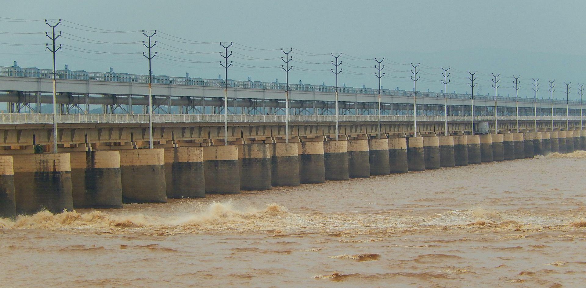Le barrage d'Indrapuri