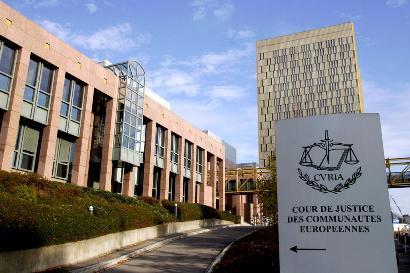 La Cour de Justice de l'Union européenne, à Luxembourg