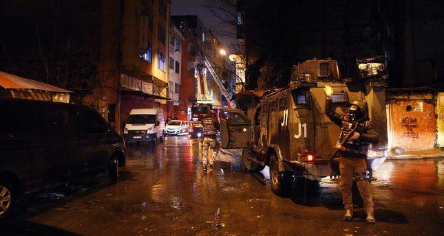 L'opération policière à Okmeydanı