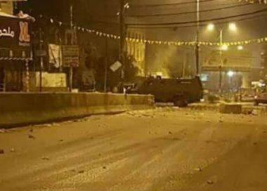 Les affrontements à Qalandia