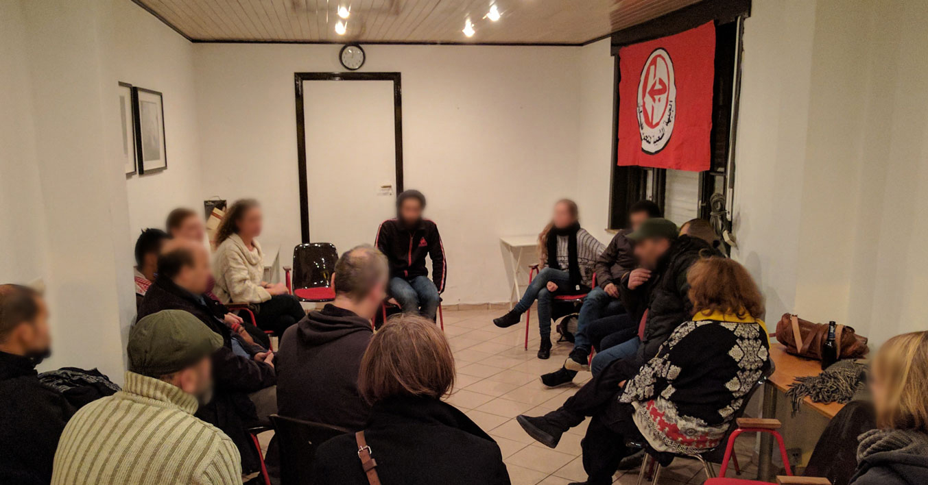 Solidarité avec Ahmad Sa'adat