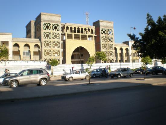 Le palais de justice de Salé, où doit se dérouler le procès