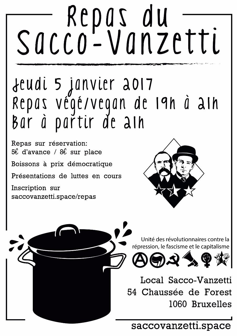 Repas du Sacco-Vanzetti