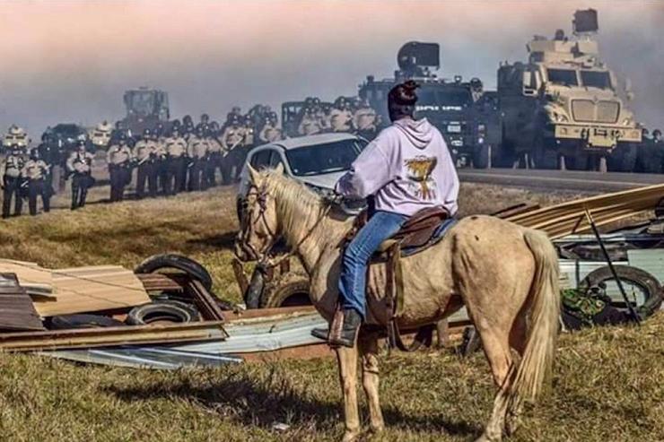 La mobilisation à Standing Rock