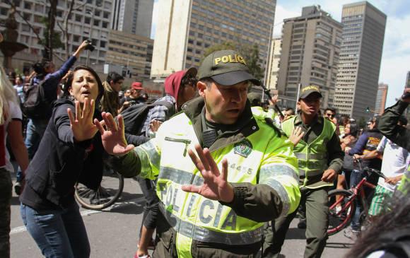 Les incidents de dimanche à Bogota