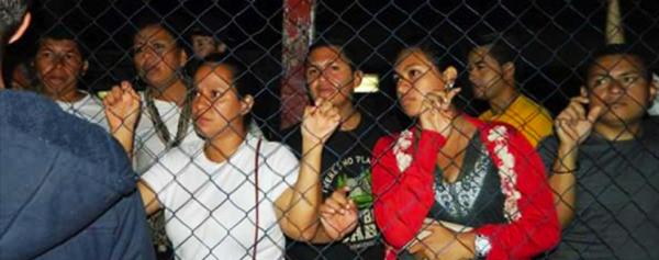 Les travailleurs de Tipitapa