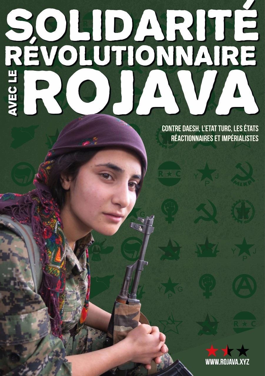 Solidarité révolutionnaire avec le Rojava