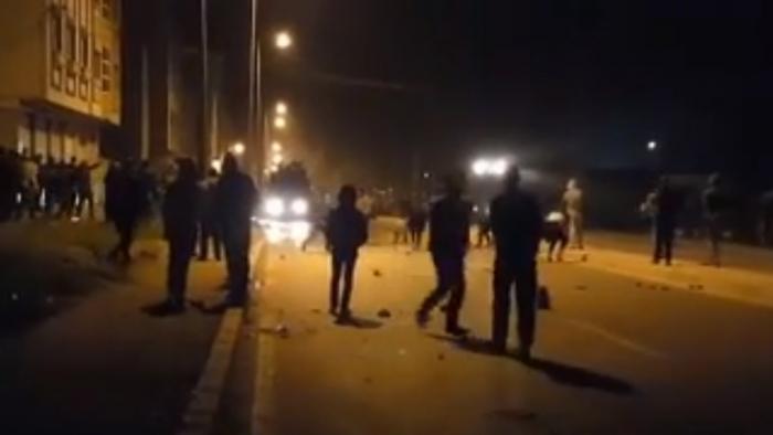 Les affrontements de Boukidan