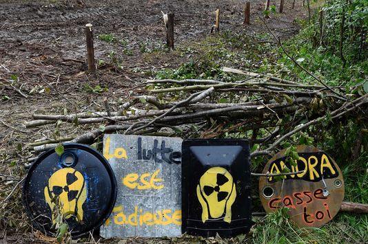 Mobilisation contre le projet Cigeo
