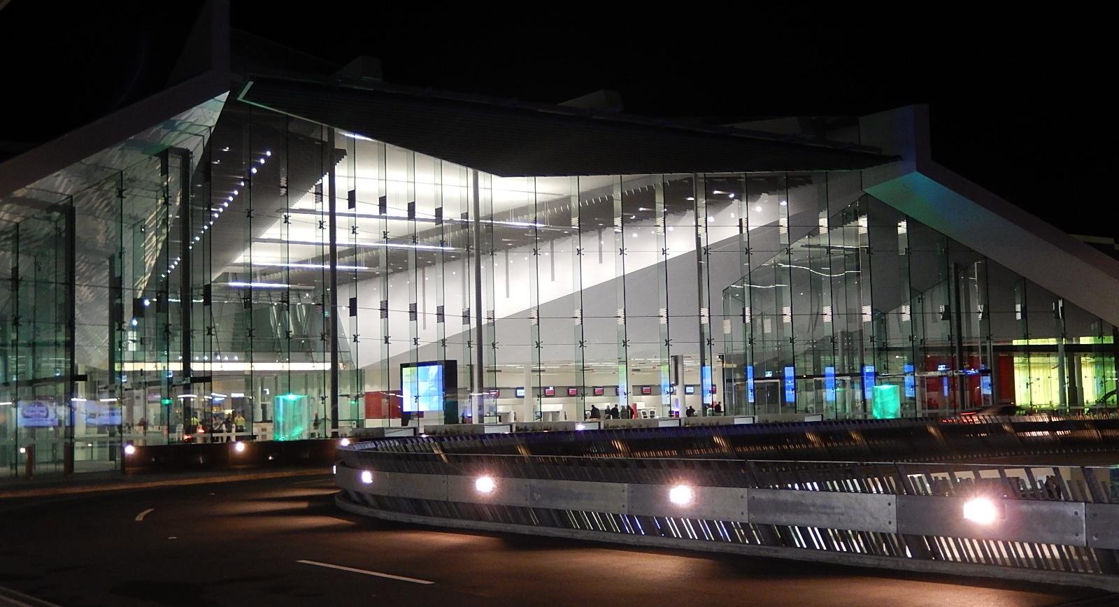 L'aéroport de Canberra, choisi pour le test