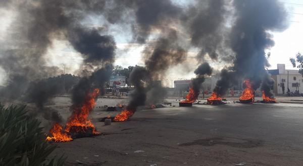 Les protestations dans le Kef en janvier 2016