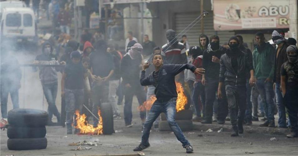 Manifestants palestiniens (archive)