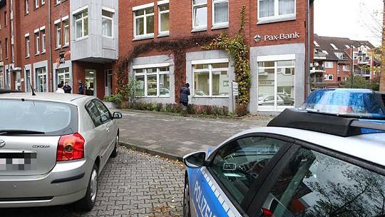 L'agence de la Pax Bank après l'attaque