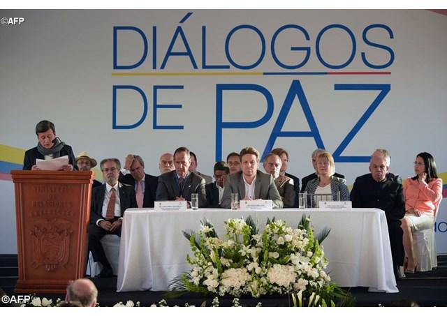 Les négociateurs de Quito