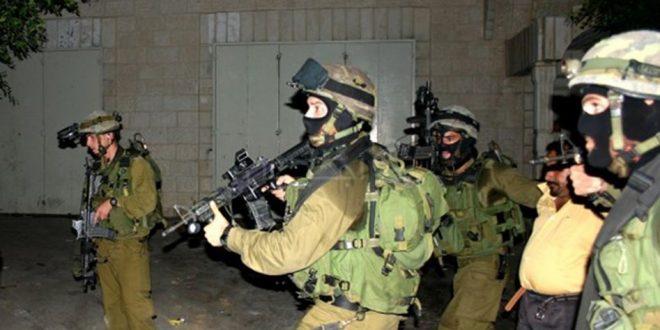 Le raid des forces d'occupation à Bethléem