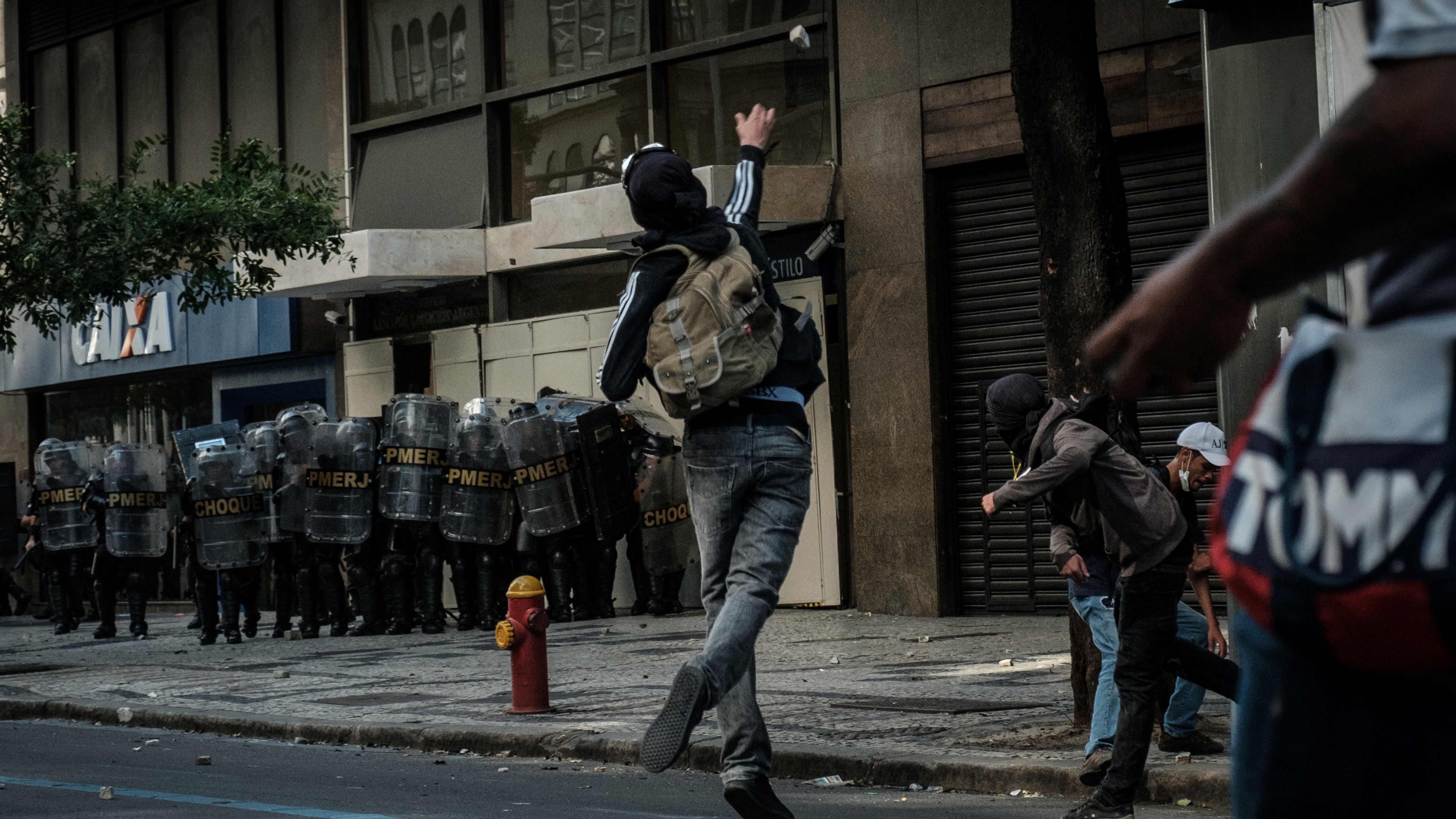 Les affrontements de Rio