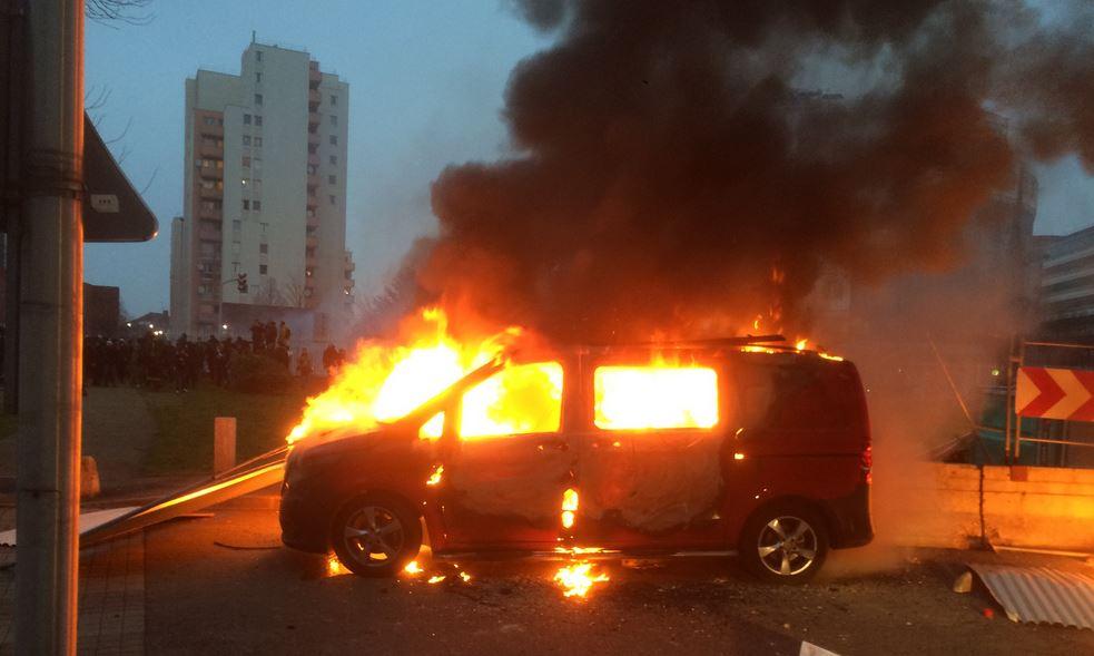 Les incidents à Bobigny
