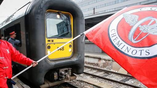 Grève à la SNCB