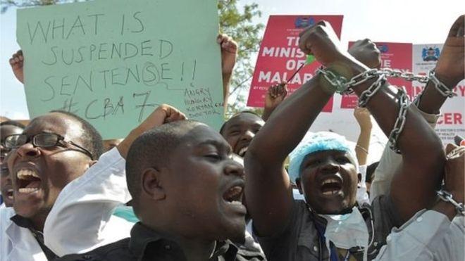 Les grévistes dénoncent l'arrestation dee leurs représentants