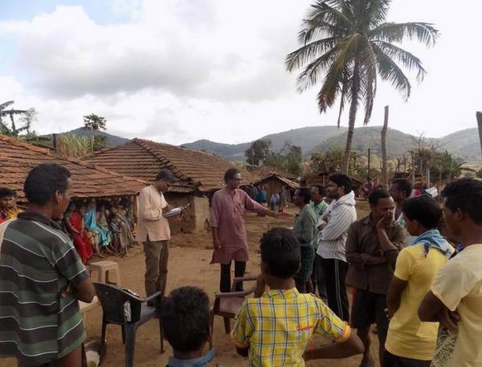 Enquête dans les villages de Annavaram et de Gorrilametta